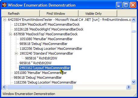 Windows Enumeration Sample