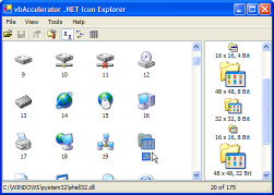 .NET Icon Explorer