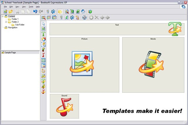 Booksoft Expressions Template Creation Window