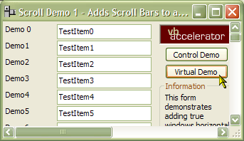 vbAccelerator - Adding Scroll Bars to Forms, PictureBoxes