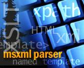 Using MS XML Parser Technology